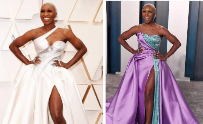 Cynthia Erivo Channeling Her Classic Regal Grandeur at Oscars 2020