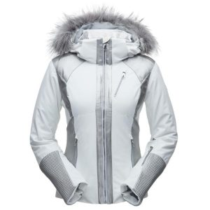 LONG NYLON ANORAK WITH FAUX FUR LINING