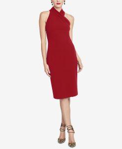 Halter Sheath Dress