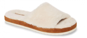 Vince Kalina Genuine Shearling Slipper