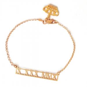 Roman Special Date Numeral Bracelet