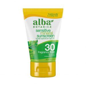 Alba Botanica Sunscreen Lotion