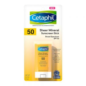 CETAPHIL Sheer Mineral Sunscreen Stick for Face & Body