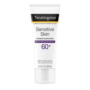 Neutrogena Sensitive Skin Mineral Sunscreen Lotion